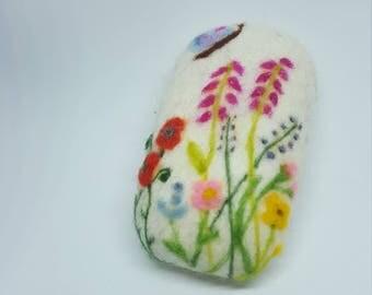 Country garden design soap