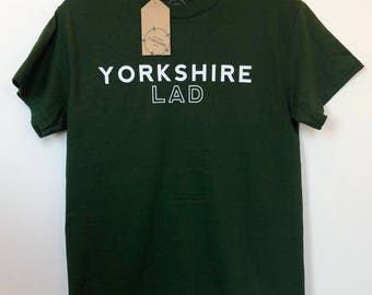 Yorkshire Lad T-Shirt - Green