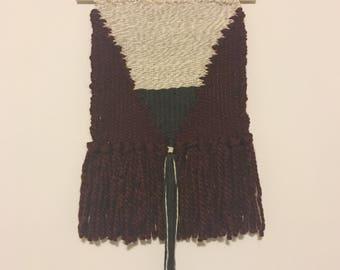 Handwoven Wall Hanging- 2 Corinthians 13:14, OK weaving