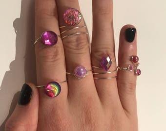 Ring Bundle in Prim Princess