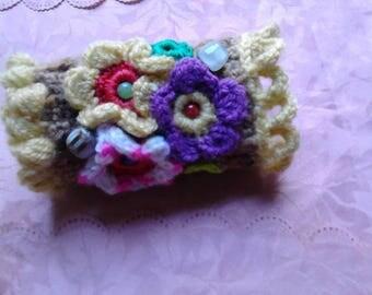 crochet bracelet handmade
