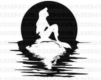 Ariel SVG, Little Mermaid svg, Ariel, Disney svg, Disney cut file