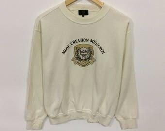 Rare!!! Vintage Mcm legere sweatshirt