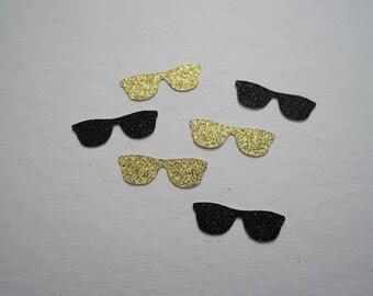 Glitter Sunglasses Confetti   Custom Made   Party Confetti