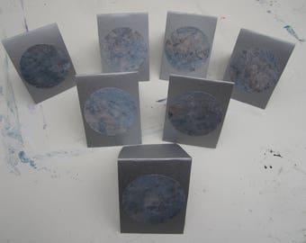 7 Pack of Handmade Greetings Cards