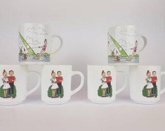 Suske en Wiske vintage mugs