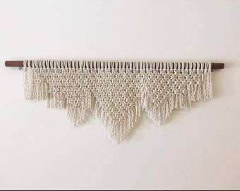 Macrame Wall Hanging 'Mountains'