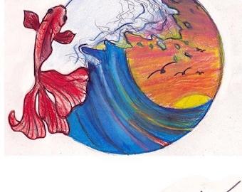 "Fish"" Art Print"