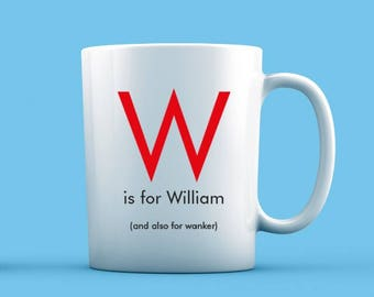 W is For... Mug
