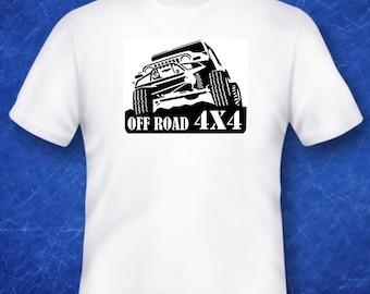 Off Road 4x4 Tshirt cult classic car vintage motor memorabilia