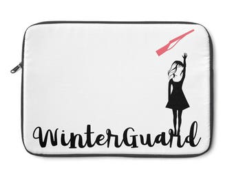 Winterguard (Rifle) Laptop Sleeve / ColorGuard / Color Guard