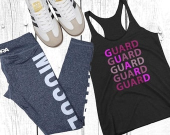 Winter Guard / Color Guard Women's Racerback Tank - WinterGuard, ColorGuard