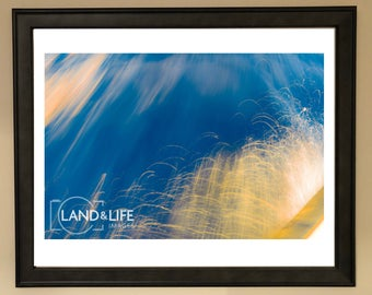 Jumping Waves Lustre Print