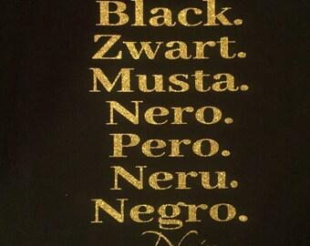 Many Languages Of Black