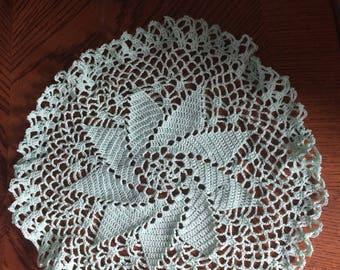 Hand crafted Pinwheel Doily