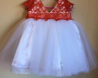 Girl Dress 12th (size 1)