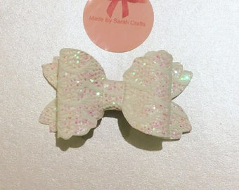 Iridescent Mermaid Bow