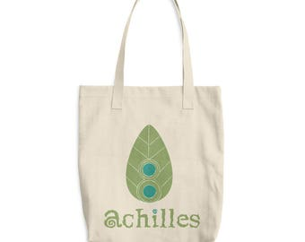 Achilles8 Cotton Tote Bag