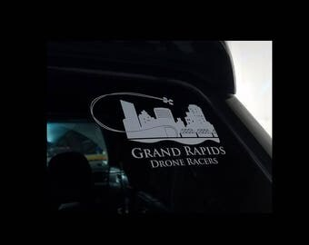 GRDR window decal