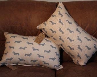 Dachshund Animal Print Cushion