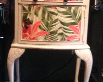 Upcycled Vintage Bedside Cabinet