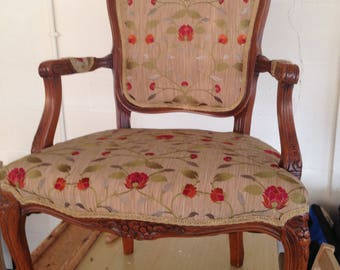 Antique French Louis Style Chair