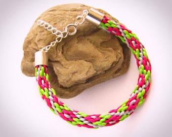 Florar braided spring bracelet