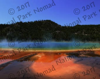 Grand Prismatic Spring, Digital Download, Yellowstone National Park