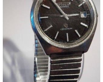 Vintage CITIZEN CRYSTRON Watch