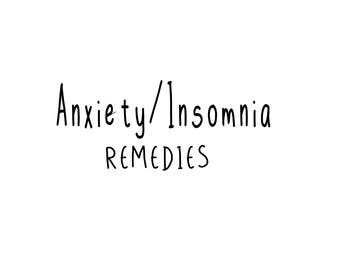 Anxiety/Insomnia Remedy Box