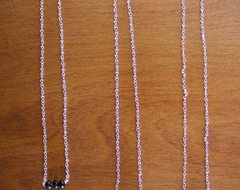 Simple, Stylish Triple Jewel Necklace