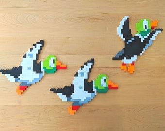 Lego Duck Hunt 8-bit Wall Art - Set of 3