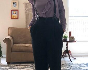 Vintage overall suspenders