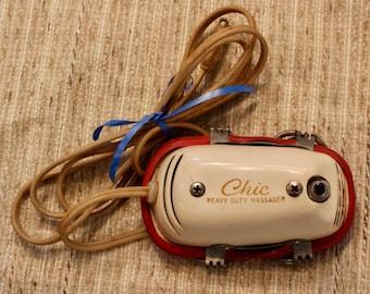 Massager, hand held vibrator vintage Chic massager WORKS!