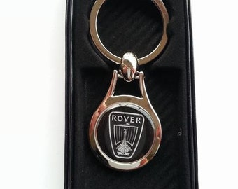 ROVER Chrome Key Ring Fob Keyring Gift Idea