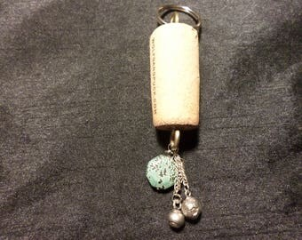 Essential Oil Key Chain Wine Cork Diffuser Aromatherapy