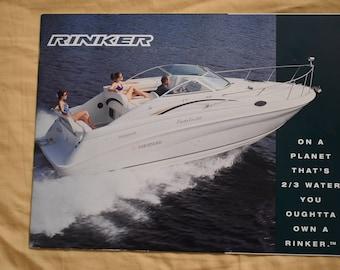 Rinker Boats 1997 Original Sales Brochure