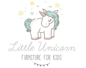 Baby unicorn  logo photography logo, Kids fashion logo design, Kids shop logo