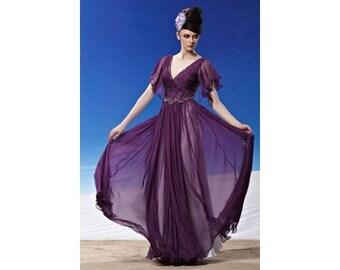 Purple Chiffon