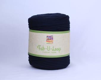 "T-Shirt Yarn -""Black Hole""  ~160 yards, 130 m"