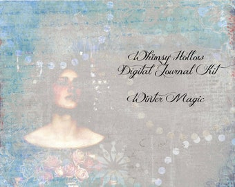 Winter Magic Journal Kit - Digital Download