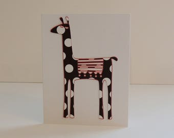 Llama HANDMADE Blank Note Cards A Pet from Peru Free Shipping
