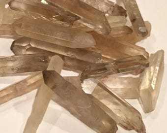 SALE 1pc SMOKY CITRINE Point Natural Raw Crystals