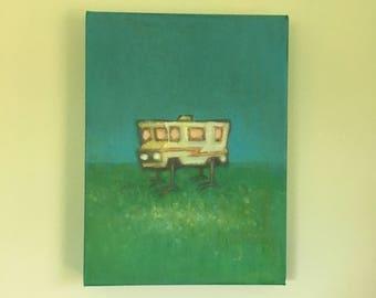 RV creature original  painting