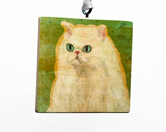 Pet Gift, Persian Cat Ornament, Cute Cat Gifts, Cat Christmas Ornament, Cat Gifts for Girls, Gift, Cat Lovers Gift for Her