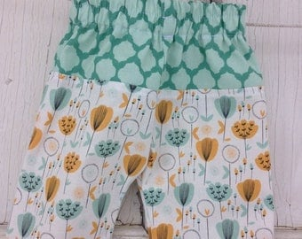 40% OFF- Whimsies Baby Loungers-Eco Friendly Pants-Florals