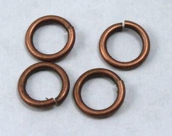 12mm Antique Copper 13 Gauge Jump Ring #RJD045