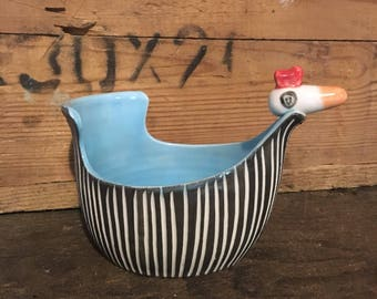 Modern porcelain chick bowl
