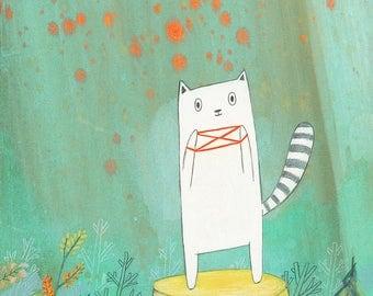Cat's Cradle - Signed Art Print