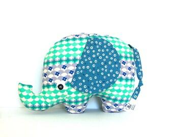 Baby Gift, Stuffed Elephant, Elephant Softie, Elephant Plush, Baby Boy Gift, Unique Kids Gift